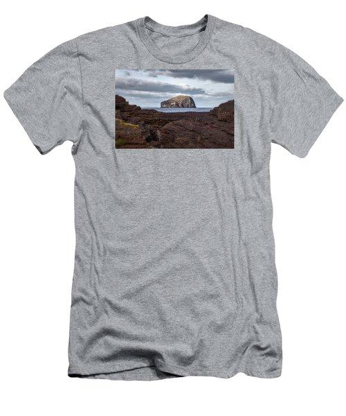 Bass Rock Men's T-Shirt (Athletic Fit)