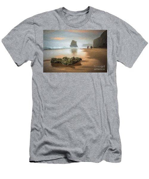Beach Stroll Men's T-Shirt (Athletic Fit)