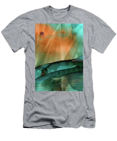 Beyond The City Lights Men's T-Shirt (Athletic Fit)