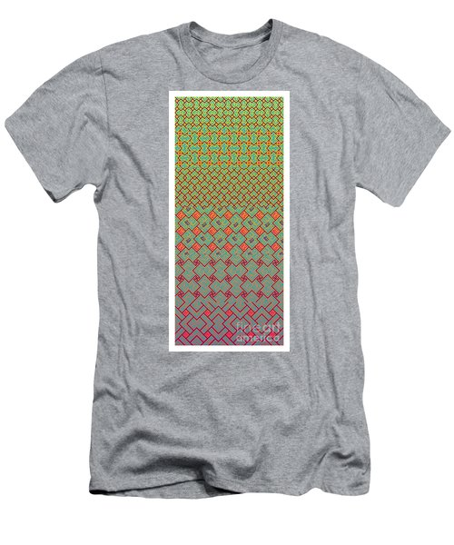 Bibi Khanum Ds Patterns No.8 Men's T-Shirt (Athletic Fit)