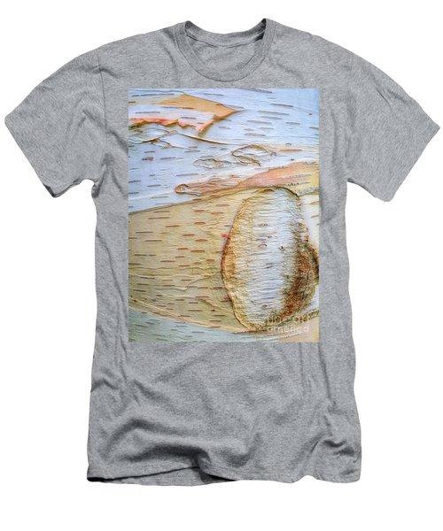 Birch Tree Bark Men's T-Shirt (Slim Fit) by Todd Breitling