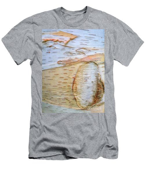 Birch Tree Bark Men's T-Shirt (Athletic Fit)
