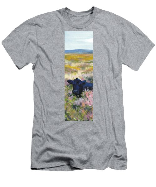 Black Cow Dartmoor Men's T-Shirt (Athletic Fit)