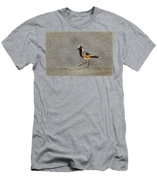 Black-winged Lapwing Art Men's T-Shirt (Slim Fit) by Kay Brewer