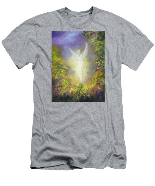Blessing Angel Men's T-Shirt (Slim Fit) by Marina Petro