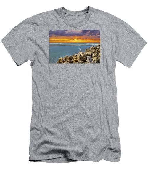 Blind Pass Sunset Men's T-Shirt (Athletic Fit)