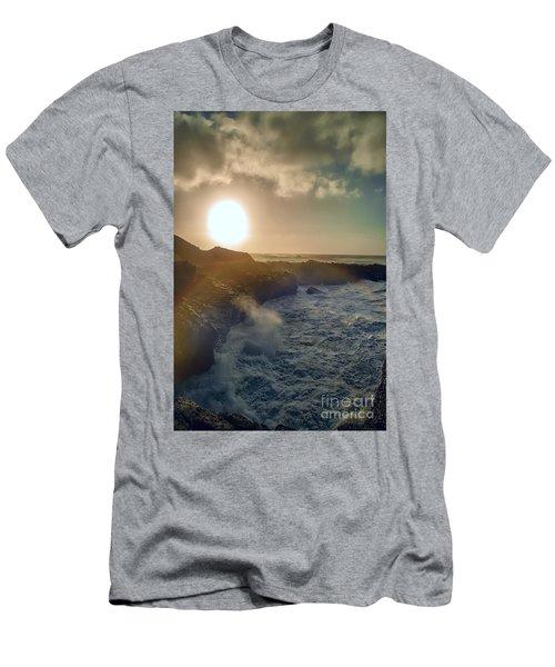 Blueside Men's T-Shirt (Slim Fit) by Billie-Jo Miller