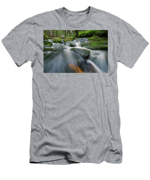 Bode, Harz Men's T-Shirt (Slim Fit) by Andreas Levi