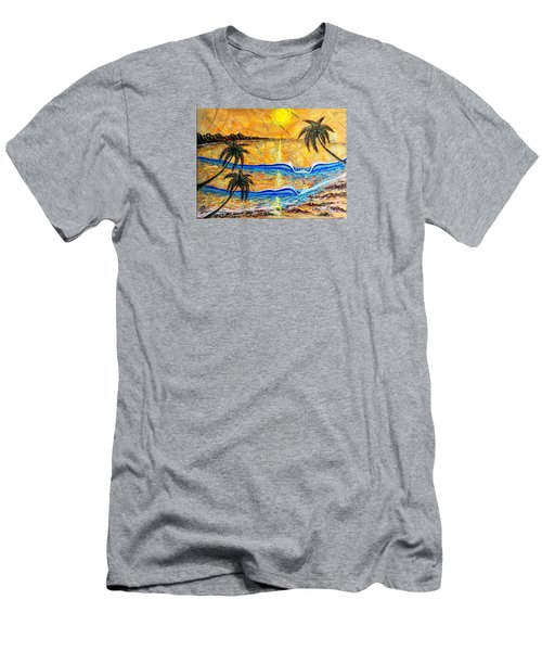 Breathe In The Moment  Men's T-Shirt (Athletic Fit)