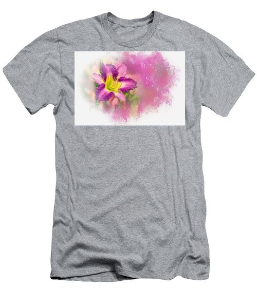 Bright Lily Men's T-Shirt (Athletic Fit)