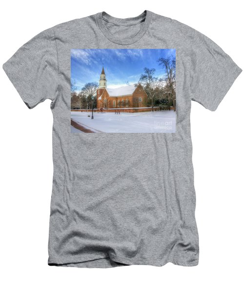 Bruton Parish In Winter II Men's T-Shirt (Athletic Fit)