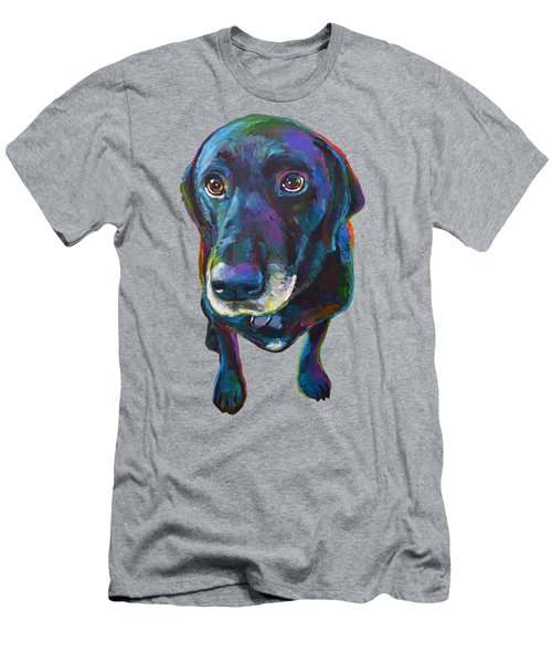 Buddy The Black Labrador Men's T-Shirt (Athletic Fit)