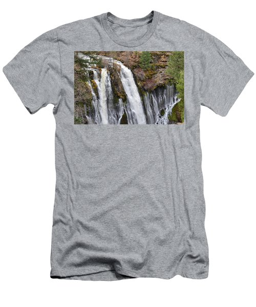 Burney Falls Men's T-Shirt (Athletic Fit)