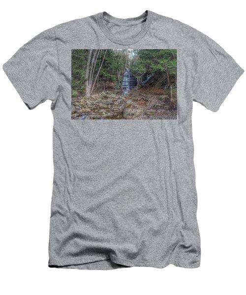 Buttermilk Falls Men's T-Shirt (Athletic Fit)