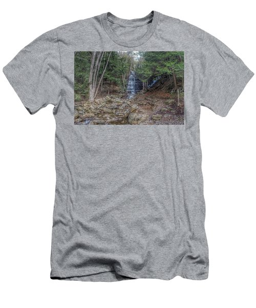 Buttermilk Falls Men's T-Shirt (Athletic Fit)