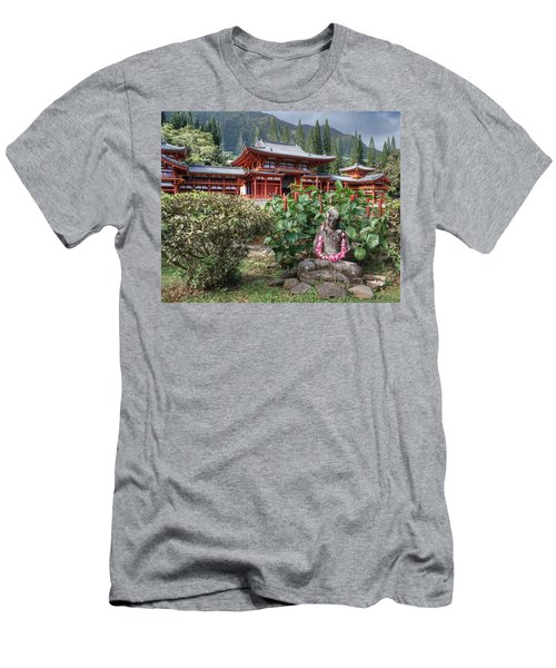 Byodo-in Men's T-Shirt (Athletic Fit)
