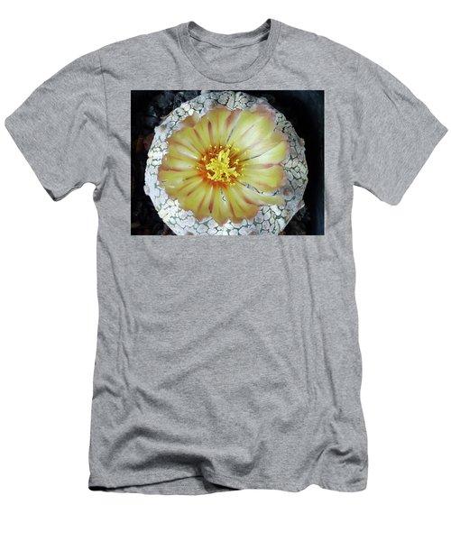 Cactus Flower 2 Men's T-Shirt (Slim Fit) by Selena Boron
