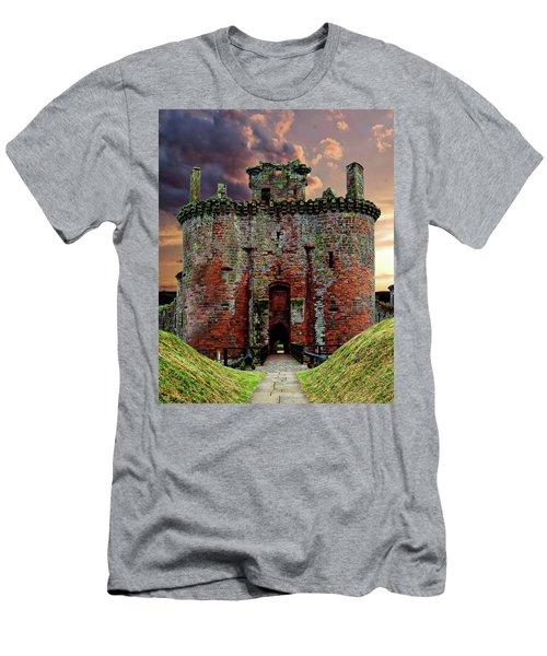 Caerlaverock Castle Men's T-Shirt (Athletic Fit)