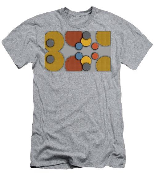 Colorful Circles Men's T-Shirt (Athletic Fit)