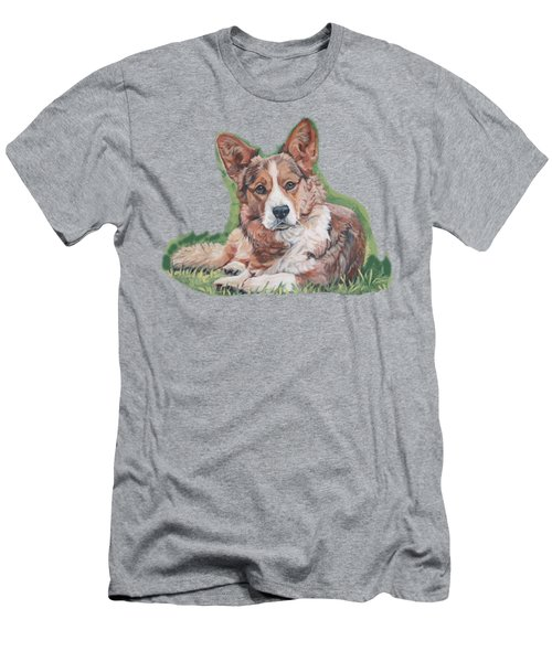 Cardigan Welsh Corgi Men's T-Shirt (Athletic Fit)