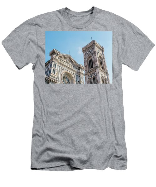 Cattedrale Di Santa Maria Del Fiore Is The Main Church Of Floren Men's T-Shirt (Athletic Fit)
