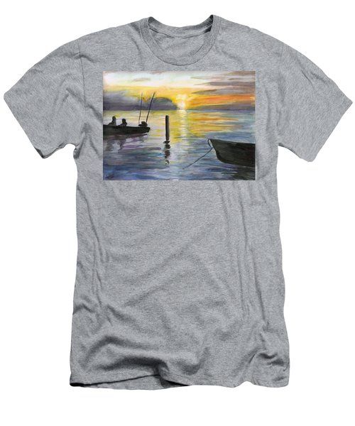 Chesapeake Sunset Men's T-Shirt (Athletic Fit)