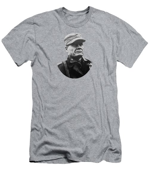 Chesty Puller Men's T-Shirt (Slim Fit) by War Is Hell Store