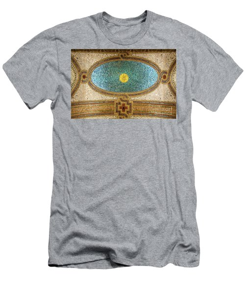 Chicago Cultural Center Ceiling Men's T-Shirt (Athletic Fit)