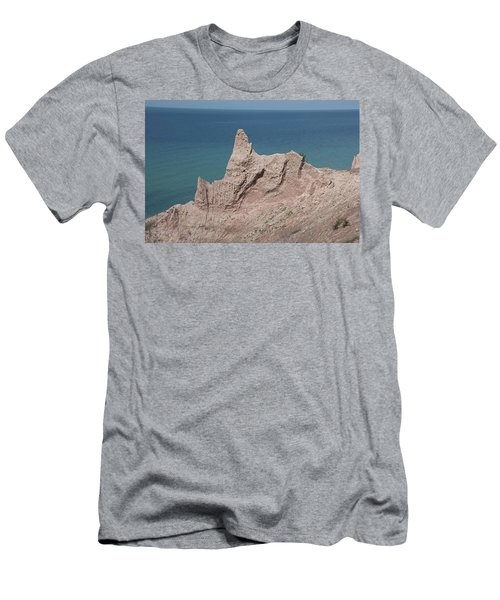 Chimney Bluffs Men's T-Shirt (Athletic Fit)