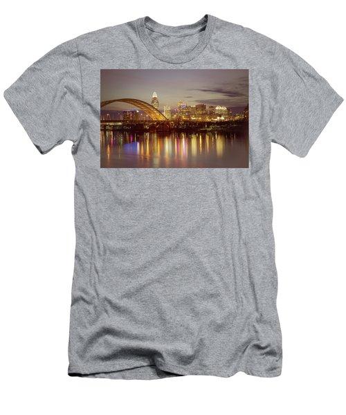 Cincinnati Men's T-Shirt (Slim Fit) by Scott Meyer