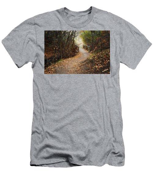 City Creek Bridge Men's T-Shirt (Athletic Fit)