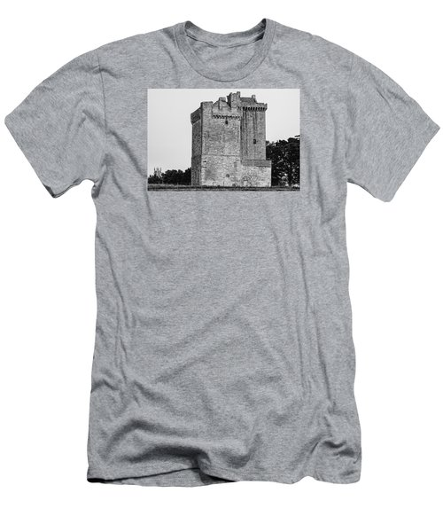 Clackmannan Tower Men's T-Shirt (Slim Fit) by Jeremy Lavender Photography