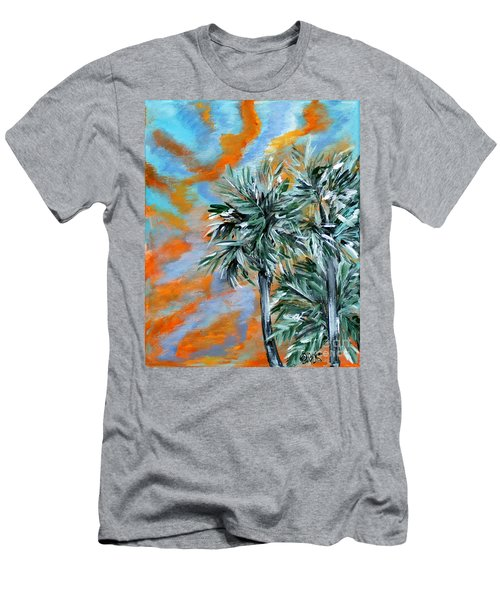 Collection. Art For Health And Life. Painting 2 Men's T-Shirt (Athletic Fit)
