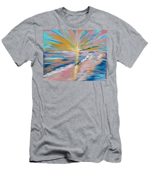 Collection. Art For Health And Life. Painting 5 Men's T-Shirt (Athletic Fit)