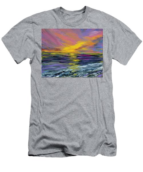 Collection Art For Health And Life. Painting 8 Men's T-Shirt (Athletic Fit)