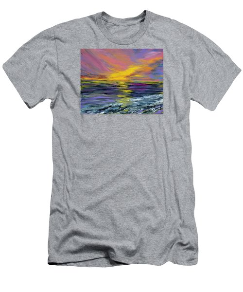Collection Art For Health And Life. Painting 8 Men's T-Shirt (Slim Fit) by Oksana Semenchenko