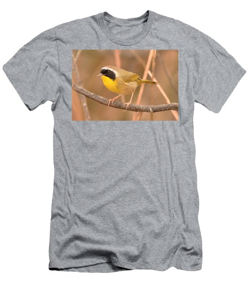 Common Yellow-throat Men's T-Shirt (Slim Fit) by Alan Lenk