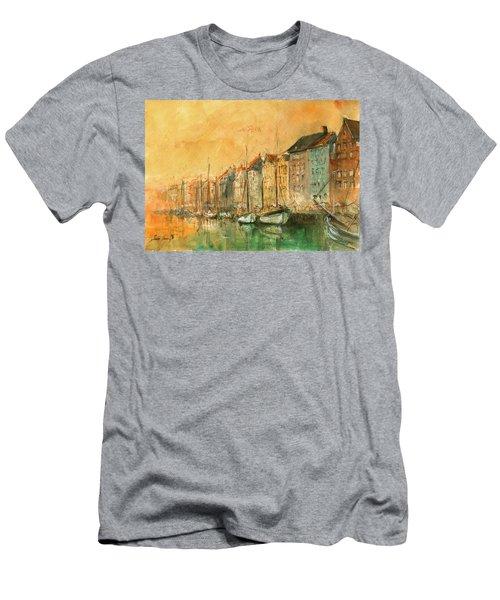 Copenhagen Men's T-Shirt (Athletic Fit)