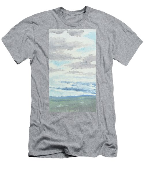 Dagrar Over Salenfjallen- Shifting Daylight Over Distant Horizon 9 Of 10_0029 Men's T-Shirt (Athletic Fit)
