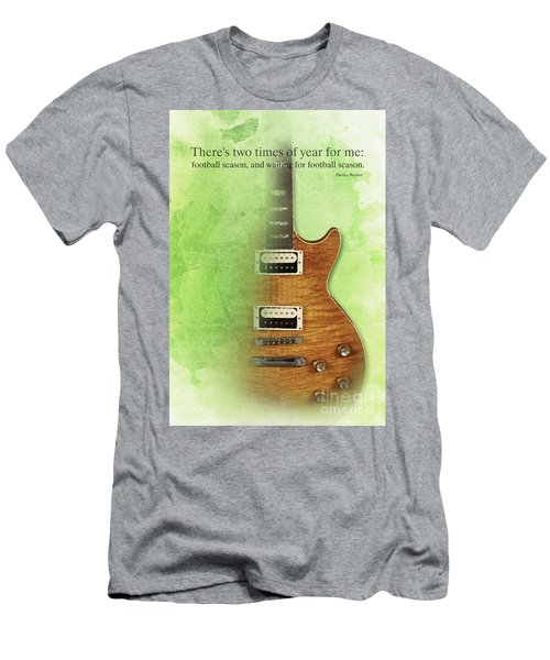 Darius Rucker Inspirational Quote, Electric Guitar Poster For Music Lovers And Musicians Men's T-Shirt (Slim Fit)
