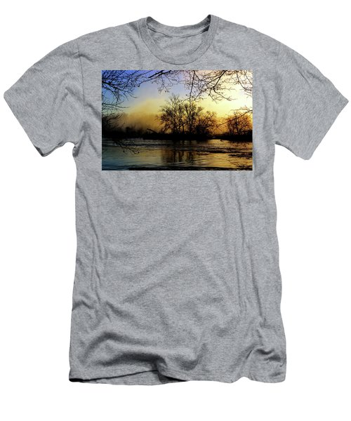 Men's T-Shirt (Athletic Fit) featuring the photograph Morning Dawn by EDi by Darlene