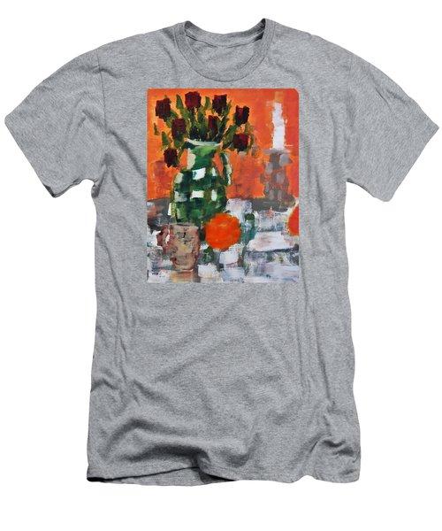 Dead Roses Men's T-Shirt (Athletic Fit)