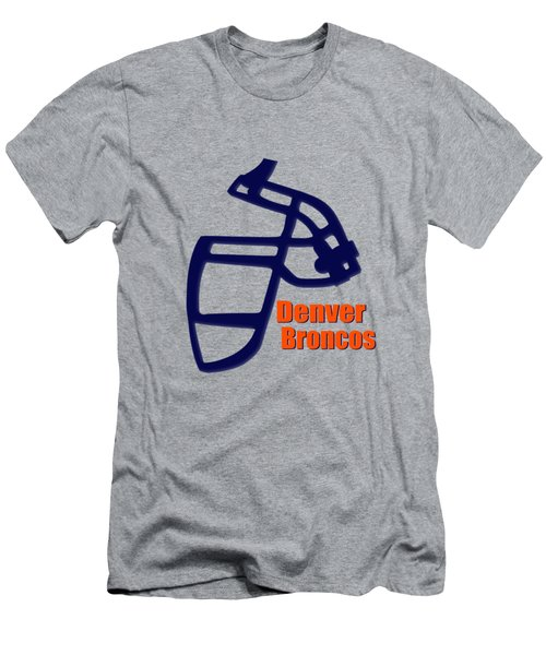 Denver Broncos Retro Shirt Men's T-Shirt (Athletic Fit)