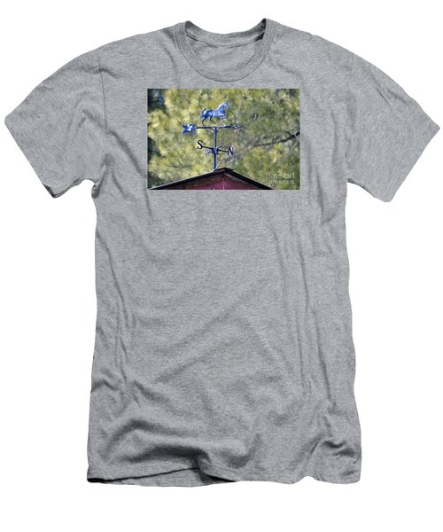 Men's T-Shirt (Slim Fit) featuring the photograph Direction  by Juls Adams