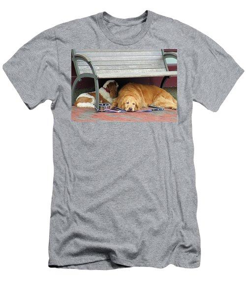 Dog Daze Men's T-Shirt (Athletic Fit)