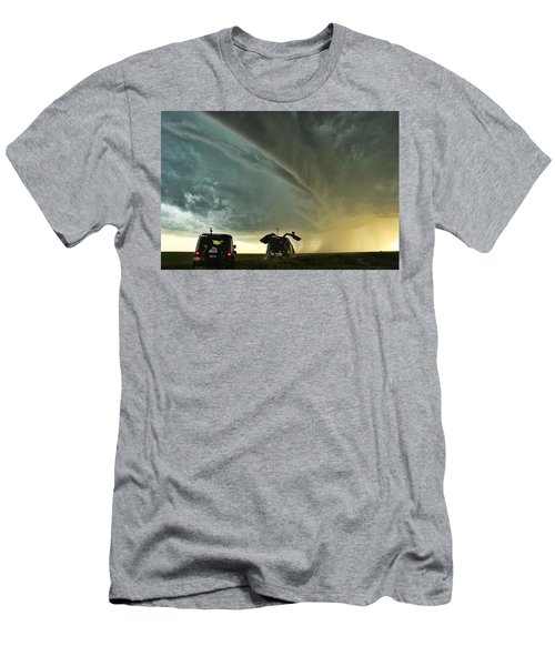 Dominating The Storm Men's T-Shirt (Athletic Fit)