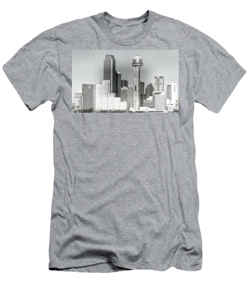 Men's T-Shirt (Slim Fit) featuring the photograph Downtown Dallas by Joan Bertucci