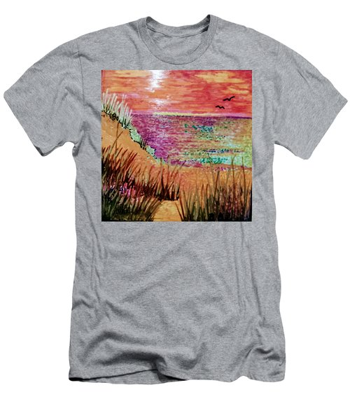 Dune Dreaming Men's T-Shirt (Athletic Fit)