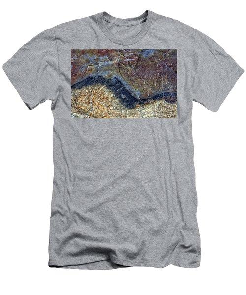 Earth Portrait 000-205 Men's T-Shirt (Athletic Fit)