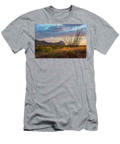 Elephant Head Men's T-Shirt (Athletic Fit)